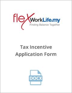 Tax Incentive Application Form