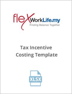 Tax Incentive Costing Template