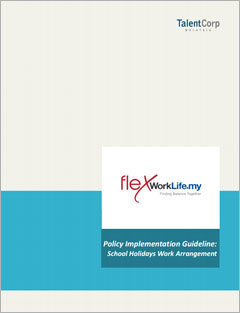 Policy Implementation Guidelines: School Holidays Work Arrangement