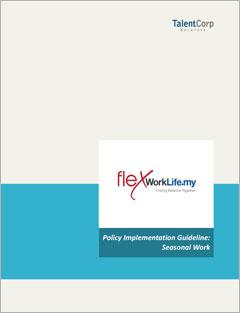 Policy Implementation Guidelines: Seasonal Work