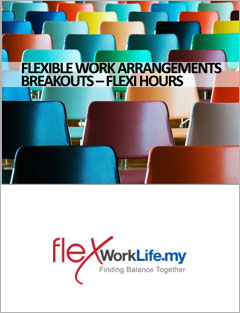 'Flexi Hours' training materials from Flexible Work Arrangements Workshop