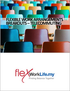 'Telecommuting' training materials from Flexible Work Arrangements Workshop