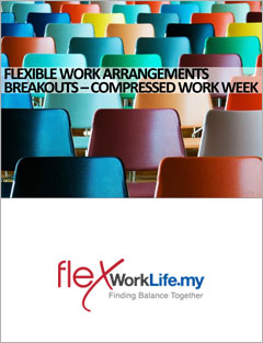 'Compressed Work Week' training materials from Flexible Work Arrangements Workshop
