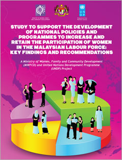 Study to Support the Development of National Policies & Programmes to Increase & Retain the Participation of Women in the Malaysian Labour Force: Key Findings & Recommendations