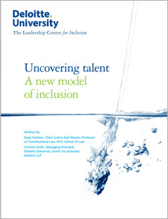 Uncovering Talent: A New Model Of Inclusion