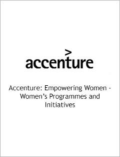 Accenture: Empowering Women - Women's Programmes & Initiatives