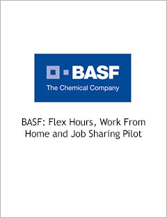 BASF: Flexi Hours, Work From Home and Job Sharing Pilot