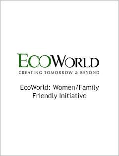 EcoWorld: Women/Family Friendly Initiative