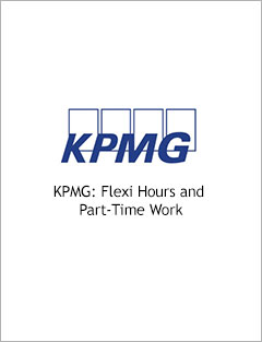KPMG: Flexi Hours and Part-Time Work