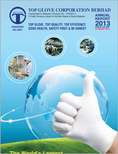Top Glove Corporation Bhd 2013 Annual Report