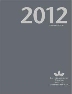 British American Tobacco (BAT) 2012 Annual Report