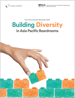 Building Diversity in Asia Pacific Boardrooms
