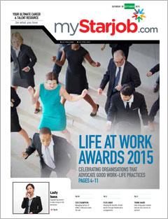 Life At Work Awards 2015 – myStarjob.com Pullout