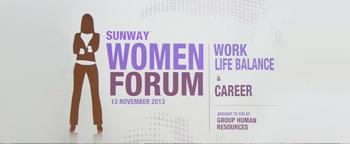 Sunway Women Forum 2013
